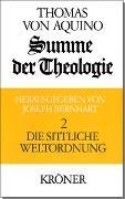Cover-Bild zu Thomas von Aquin: Summe der Theologie / Die sittliche Weltordnung