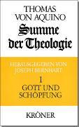 Cover-Bild zu Thomas von Aquin: Summe der Theologie / Gott und Schöpfung