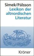Cover-Bild zu Simek, Rudolf: Lexikon der altnordischen Literatur
