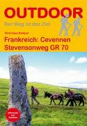 Cover-Bild zu Frankreich: Cevennen Stevensonweg GR 70. 1:100'000 von Kämper, Véronique