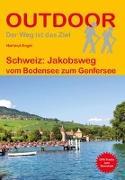 Cover-Bild zu Schweiz: Jakobsweg. 1:100'000 von Engel, Hartmut