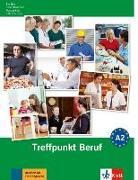 Cover-Bild zu Berliner Platz 2 NEU - Treffpunkt Beruf A2 mit Audio-CD von Rodi, Margret