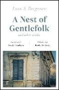 Cover-Bild zu Turgenev, Ivan: A Nest of Gentlefolk and Other Stories (riverrun editions)