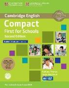 Cover-Bild zu Thomas, Barbara: Compact First for Schools Student's Pack