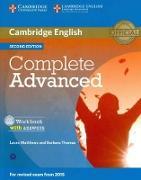Cover-Bild zu Matthews, Laura: Complete Advanced. Second Editon. Workbook with answers