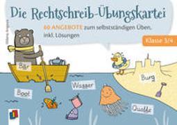 Cover-Bild zu Die Rechtschreib-Übungskartei - Klasse 3/4 von Angioni, Milena