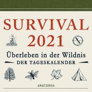 Cover-Bild zu Survival Kalender 2021 von Canterbury, Dave