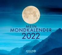 Cover-Bild zu Mein Mondkalender 2022 von Wolfram, Katharina