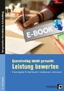 Cover-Bild zu Quereinstieg leicht gemacht: Leistung bewerten (eBook) von Klopsch, Britta