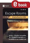 Cover-Bild zu Escape-Rooms für den Deutschunterricht 5-10 (eBook) von Schäfer, Stefan