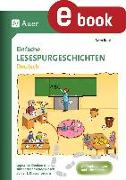 Cover-Bild zu Einfache Lesespurgeschichten Deutsch (eBook) von Rook, Sven