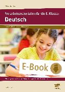 Cover-Bild zu Freiarbeitsmaterialien für die 5. Klasse: Deutsch (eBook) von Koch, Günther