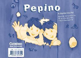 Cover-Bild zu Pepino. Aufgabenkartei von Metze, Wilfried