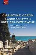 Cover-Bild zu Lange Schatten über der Côte d'Azur von Cazon, Christine