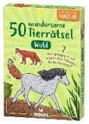 Cover-Bild zu Exp Natur 50 wundersame Tierrätsel - Wald