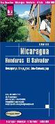 Cover-Bild zu Reise Know-How Landkarte Nicaragua, Honduras, El Salvador (1:650.000). 1:650'000