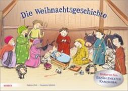 Cover-Bild zu Zett, Sabine: Die Weihnachtsgeschichte. Bildkarten fürs Erzähltheater Kamishibai