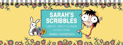 Cover-Bild zu Andersen, Sarah: Sarah's Scribbles Undated Weekly Desk Pad Calendar