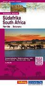 Cover-Bild zu Hallwag Kümmerly+Frey AG (Hrsg.): Südafrika, Namibia, Botswana Strassenkarte 1:2 Mio. 1:2'000'000