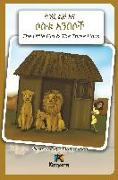 Cover-Bild zu T'nishwa Lij'na Sostu An'Besoch - The Little Girl and The Three Lions - Amharic Children's Book