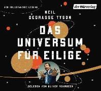 Cover-Bild zu Das Universum für Eilige von Tyson, Neil deGrasse