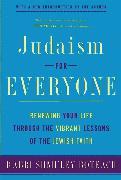 Cover-Bild zu Judaism for Everyone von Boteach, Shmuley
