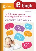 Cover-Bild zu Einfache Übungen zur Phonologischen Bewusstheit (eBook) von Wehren, Bernd
