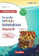 Cover-Bild zu Freiarbeitsmaterial für die Grundschule - Deutsch. Klasse 1/2 - Die große Spiele-Schatzkiste von Wehren, Bernd