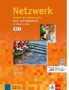 Cover-Bild zu Netzwerk. Kurs- und Arbeitsbuch mit DVD und 2 Audio-CDs B1.1 von Dengler, Stefanie
