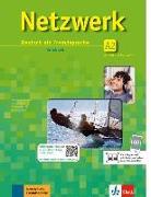 Cover-Bild zu Netzwerk A2. Kursbuch mit 2 DVDs und 2 Audio-CDs von Dengler, Stefanie