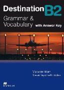 Cover-Bild zu Mann, Malcolm: Destination B2. Grammar and Vocabulary. Student's Book with Key