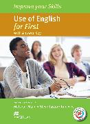 Cover-Bild zu Mann, Malcolm (Reihe Hrsg.): Improve your Skills: Use of English for First Student's Book with key & MPO Pack