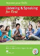 Cover-Bild zu Mann, Malcolm (Reihe Hrsg.): Improve your Skills: Listening & Speaking for First Student's Book without key & MPO Pack