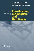 Cover-Bild zu Gaul, Wolfgang A. (Hrsg.): Classification, Automation, and New Media