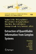 Cover-Bild zu Dahlke, Stephan (Hrsg.): Extraction of Quantifiable Information from Complex Systems