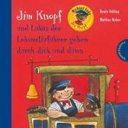 Cover-Bild zu Ende, Michael: Jim Knopf: Jim Knopf und Lukas der Lokomotivführer gehen durch dick und dünn