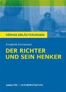 Cover-Bild zu Dürrenmatt, Friedrich: Textanalyse und Interpretation zu Friedrich Dürrenmatt. Der Richter und sein Henker