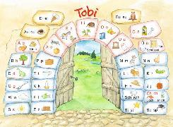 Cover-Bild zu Tobi-Fibel. Buchstabenbilder: Buchstabentabelle von Metze, Wilfried