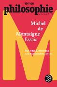 Cover-Bild zu Montaigne, Michel de: Essais