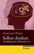 Cover-Bild zu Pieper, Annemarie: Selber denken