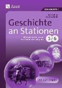 Cover-Bild zu Gellner, Lars: Geschichte an Stationen 5-6