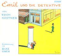 Cover-Bild zu Kästner, Erich: Emil und die Detektive. CD