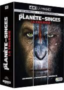 Cover-Bild zu Rupert Wyatt (Reg.): La Planète des Singes - La Trilogie - 4K + 2D