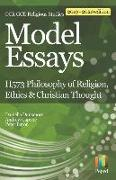 Cover-Bild zu Capone, Andrew: Model Essays for OCR Gce Religious Studies: H573 Philosophy of Religion, Ethics & Christian Thought