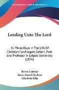 Cover-Bild zu Conway, Baron: Lending Unto The Lord