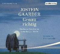 Cover-Bild zu Gaarder, Jostein: Genau richtig