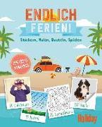 Cover-Bild zu Paschke, Viktoria: HOLIDAY Mitmachbuch: Endlich Ferien!