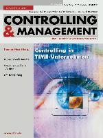Cover-Bild zu Hess, Thomas (Hrsg.): Controlling in TIME-Unternehmen