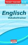Cover-Bild zu Hock, Birgit: Pocket Teacher Englisch - Vokabeltrainer 5.-10. Klasse