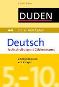 Cover-Bild zu Hock, Birgit: SMS Deutsch - Rechtschreibung und Zeichensetzung 5.-10. Klasse